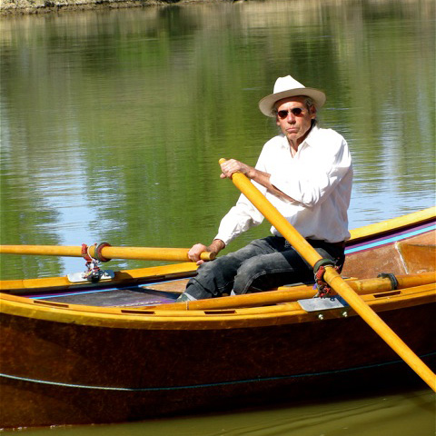 Renny at the oars on the Green River